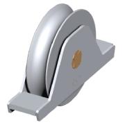 90mm concealed roller