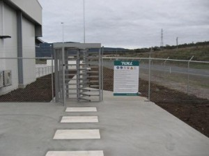 Toll Transport Turnstile