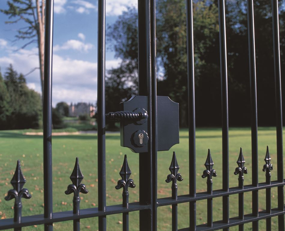 Image Of Literarywondrous Gate Lock Handle Images Inspirations Wrought Iron