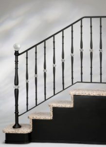 diamond-balustrade-black