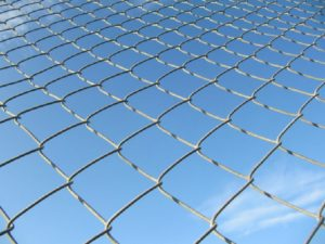 chain-wire-fencing-blue